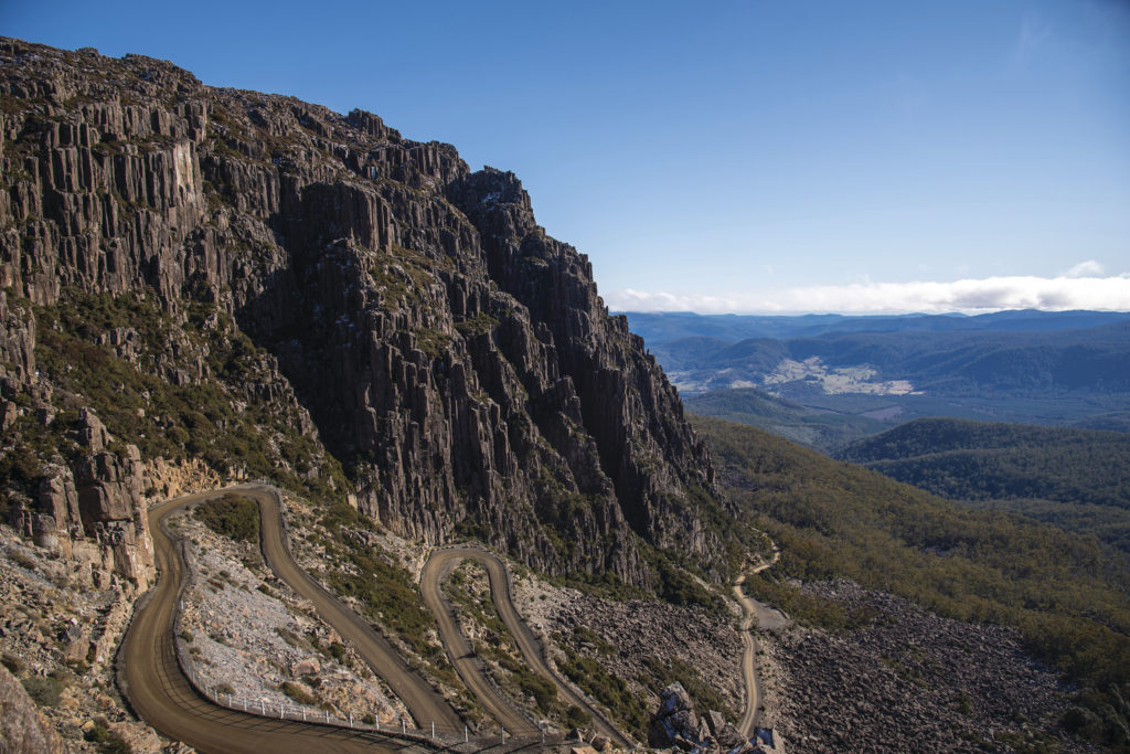 Jacobs Ladder, Ben Lomond - Image courtesy of Tourism Tasmania and Rob Burnett, All Rights Reserved